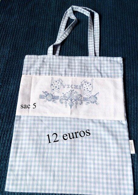 sac_5_carreaux_bleu_ciel_Vichy