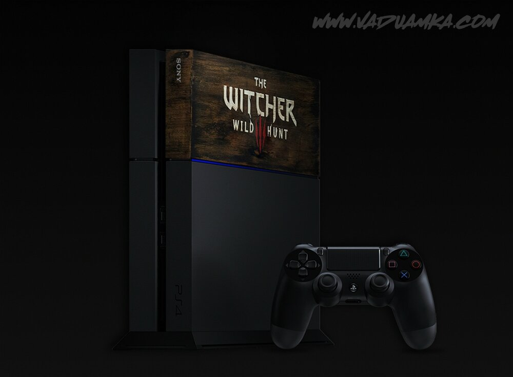 LQ PS4 Faceplate The witcher 3 sign