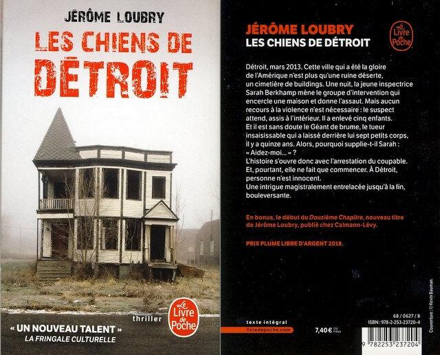 4 - Les chiens de Détroit - Jerome Loubry