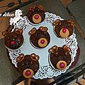 Muffins rennes ou oursons, au choix ... lol !