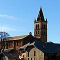 Retour aux orres : l'intérieur de l'église sainte-marie-madeleine