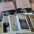 Les livres qui m'accompagnent...