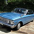 Mercury comet custom 4door sedan, 1963