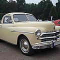 Dodge special deluxe business 2door coupé 1949