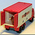 Lesney Matchbox 42 E 6 SF Mercedes Container Truck