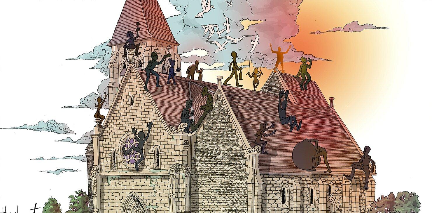 Eglise en féte