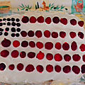 Drapeau usa ... en fruits