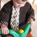 manteau laine bouillie porté