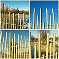 Les panneaux en bambou