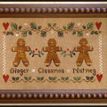 Little House Needleworks - Gingerbread Trios