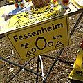 Des milliers pour dire #stopfessenheim devant la centrale #nucleaire de #fessenheim