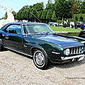 Chevrolet camaro 307 coupé de 1969 (9ème Classic Gala de Schwetzingen 2011) 01