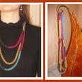 Un pour un 1er collier tricotiné