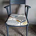 Paire de fauteuils bridge années 50 entièrement rénovés
