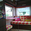 Rattrapons le retard (2): décoration de la caravane!!