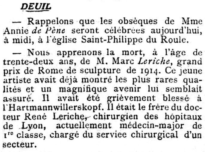 Le Figaro, 18 oct 1918