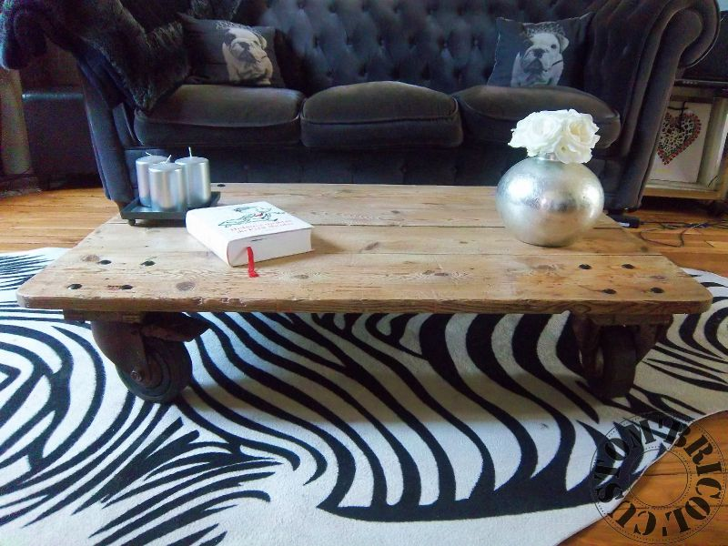 Table basse indus CB