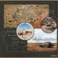 White cliffs et ses mines d'opale
