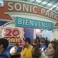 Entree stand sonic