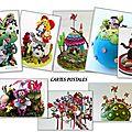 Mes rêves en cartes postales