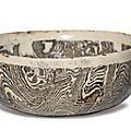A rare marbled bowl, Northern Song dynasty (960-1127)
