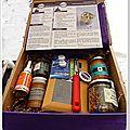 Une jolie foodizbox......celle de février...