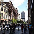 rue commerçante dans glasgow