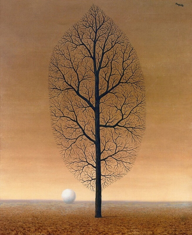 The Search for the Absolute by Rene Magritte