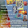 L'atelier d'art de jouy-aux-arches expose le 9 septembre 2018
