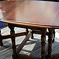 Table basse pliante