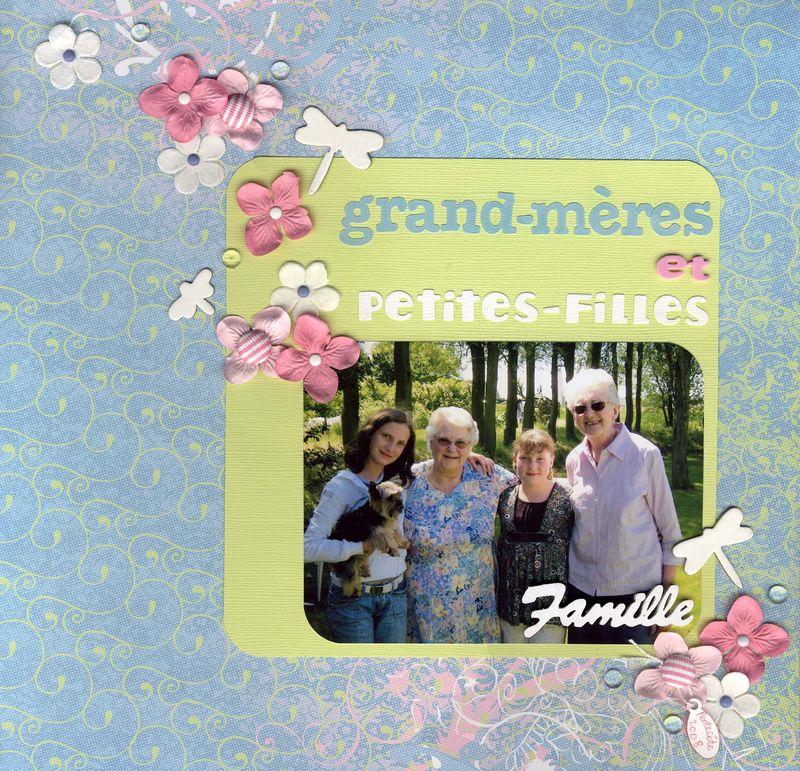 Grand-mères et petites-filles x