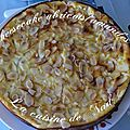 Cheesecake abricots/amandes
