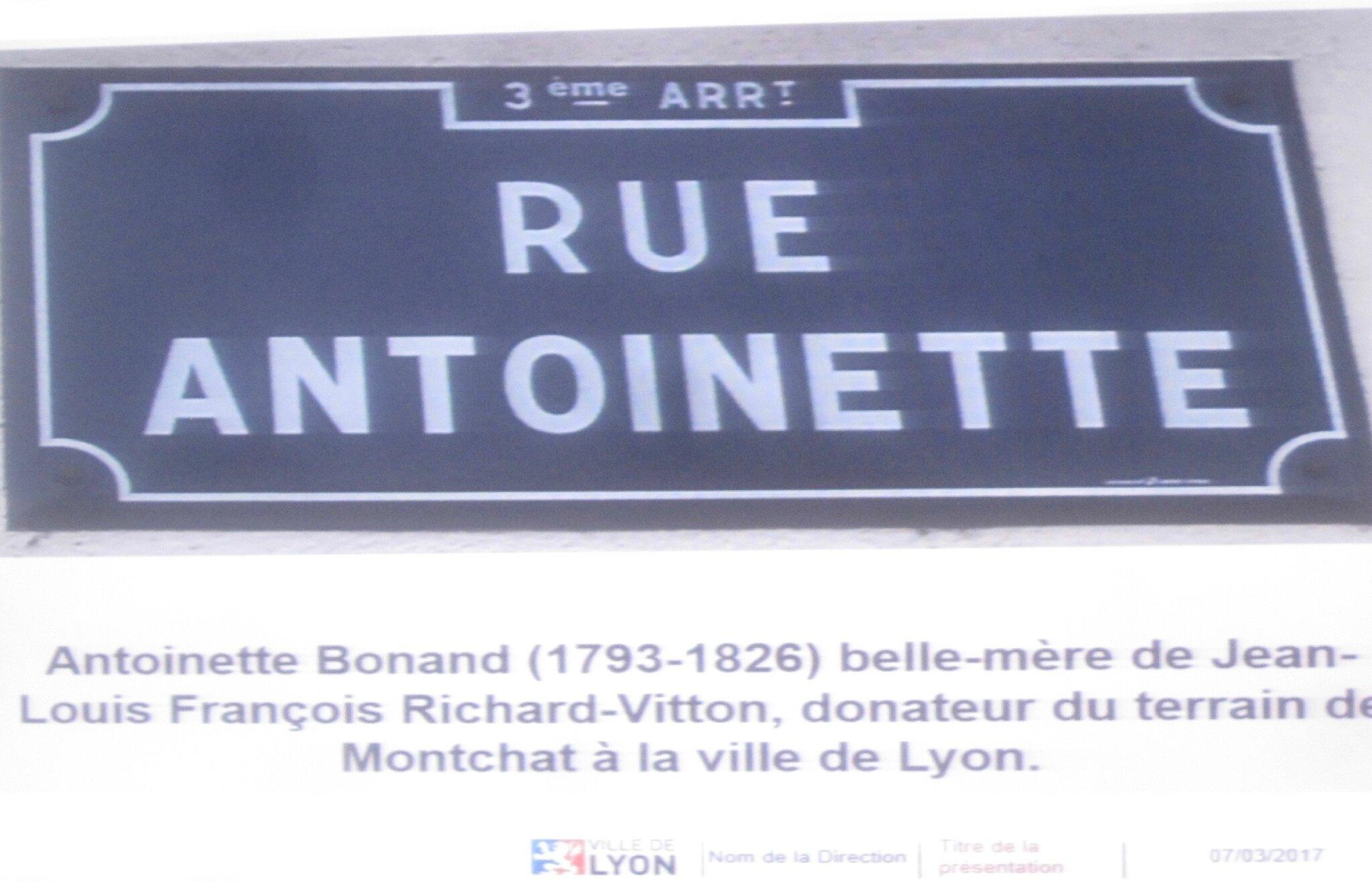 Femmes Honorées à Montchat