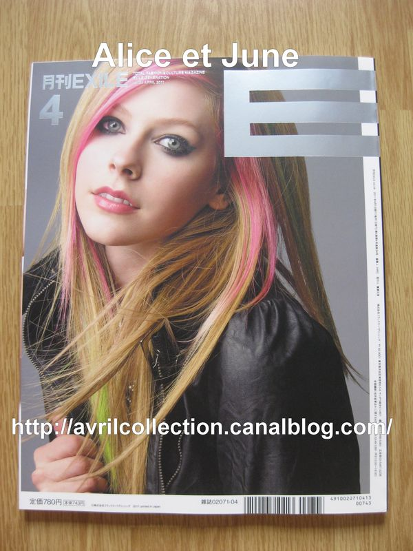 Exile Magazine-Japon (avril 2011)
