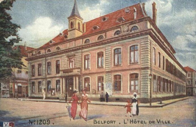 CPA Belfort Hôtel de ville LVC
