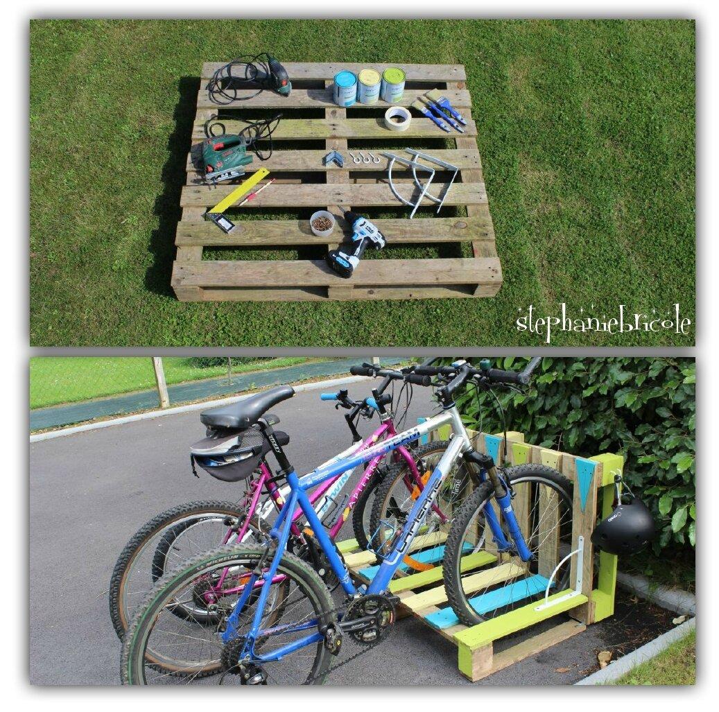 Construire Un Abri A Velo un range-vélo récup' en palette ! - stéphanie bricole