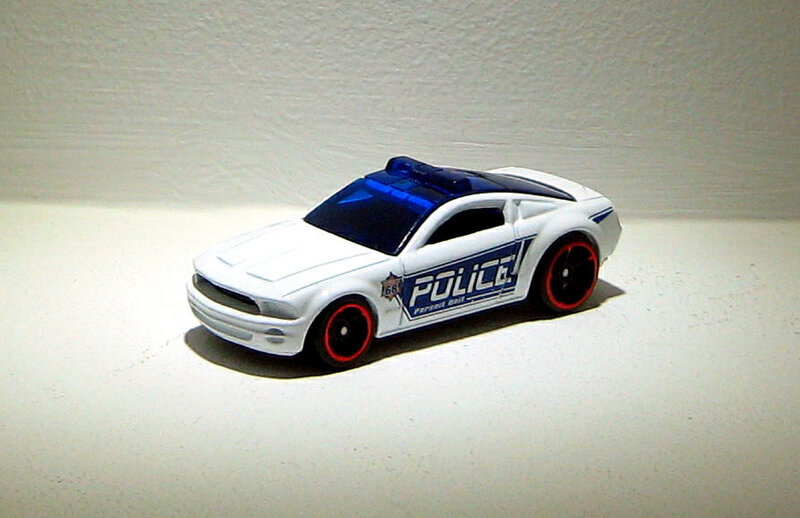 Ford mustang GT concept (2014)(Hotwheels)