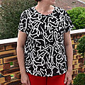 Tee-shirts jeanne - ready to sew