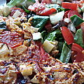 Le repas vite fait bien fait par excellence : l'omelette aux légumes