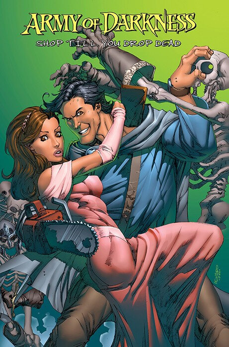reflexions army of darkness shop till you drop dead