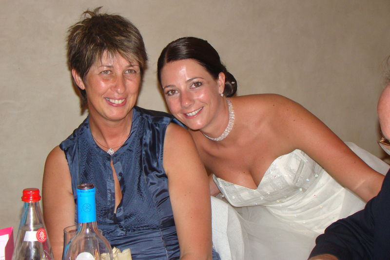 Avec Nanou le 28 aout 2010