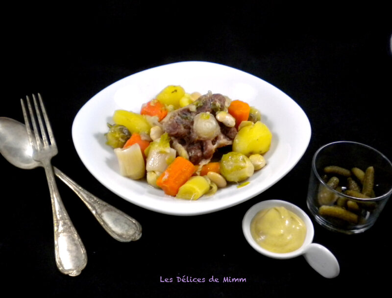 Pot au feu à la queue de bœuf 5