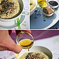 Crème de poireaux aux épices