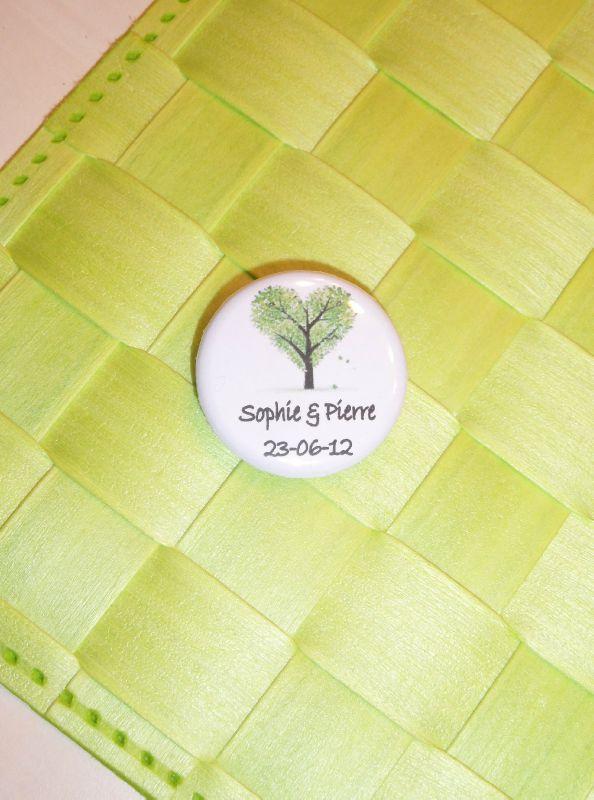 badge mariage sophie et pierre
