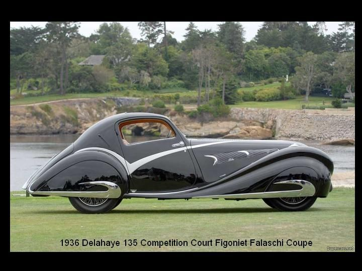 1936 - delahaye 135 Competition Court Figoniet Falaschi Coupe - 4