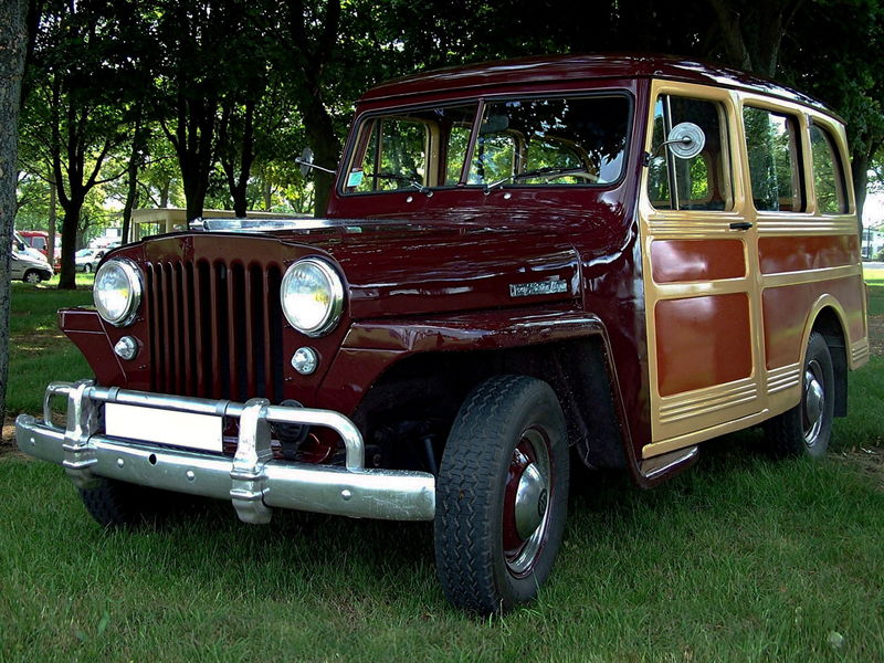 Willys Overland Jeep Station Wagon 1946 Oldiesfan67