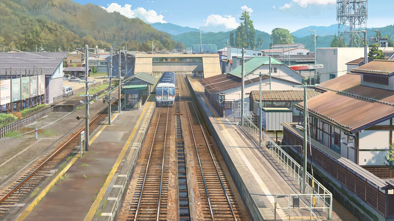 Canalblog Anime Makoto Shinkai Your Name Train03