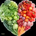 Manger sain, manger les produits de la terre, pour une vie saine et merveilleuse....