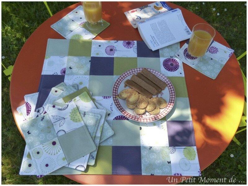 Set de table carré 3