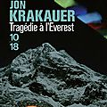 Tragédie à l'everest ~~ jon krakauer